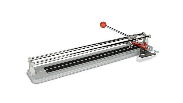 Cortadora manual PRACTIC-60 con tope lateral y escuadra 45