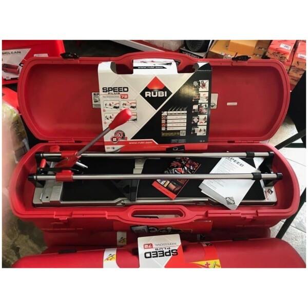 Cortadora manual cerámica y baldosas  RUBÍ SPEED-72 MAGNET con maleta