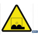 Señal advertencia peligro desniveles 297X297