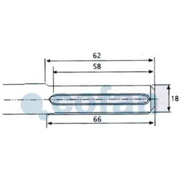 CINCEL SDS MAX 400mm 24 mm filo