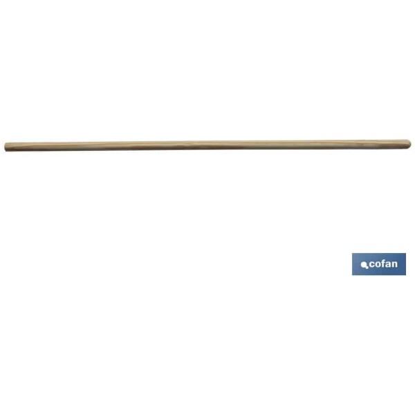 MANGO MADERA CEPILLO 1'20×2,8cm S/ROSCA