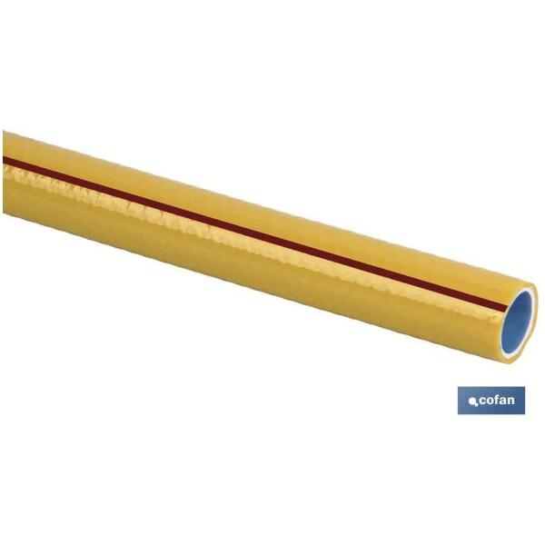 MANGUERA PVC MOD. STORM 3C TRENZADA Ø19X25 M