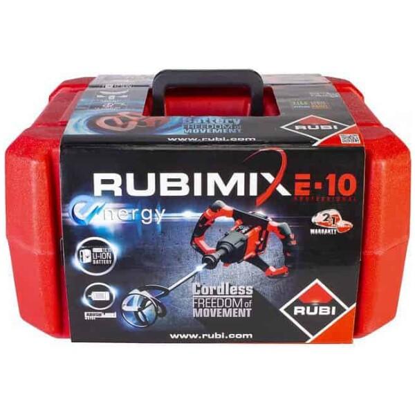 Misturador de argamassa RUBIMIX E-10 ENERGY