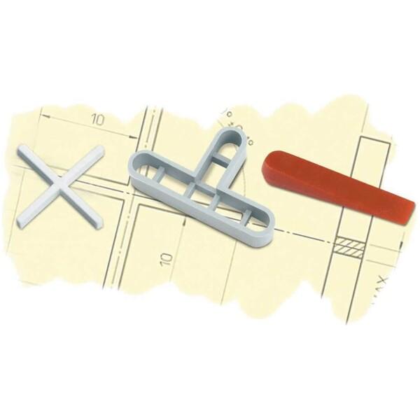 Crucetas para juntas 10 mm. (B-50 u.)