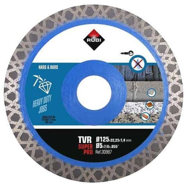 Disco diamante TVR 125 mm SUPER PRO