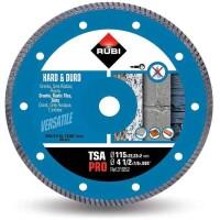 Disco de corte diamante material duro TURBO TSA-115 PRO
