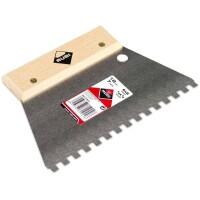 Espátula-peine ACERO 18 cm. (6×6) Rubí