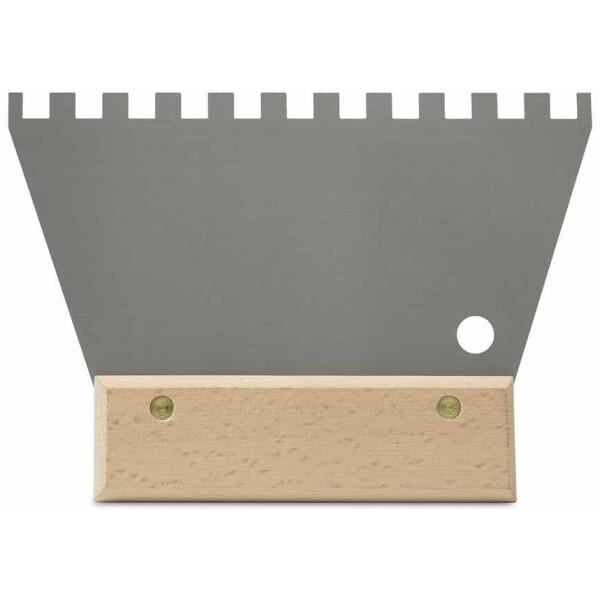 Espátula-peine ACERO 18 cm. (8×8) Rubí
