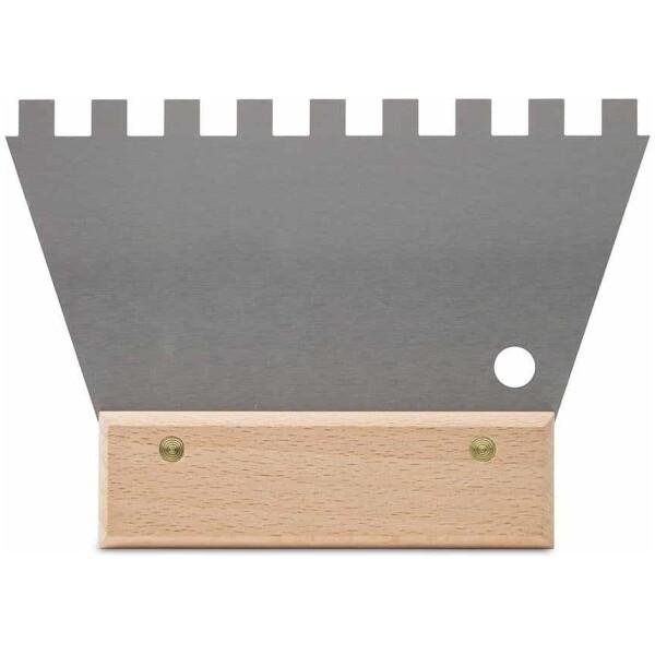 Espátula-peine ACERO 18 cm. (10×10) Rubí