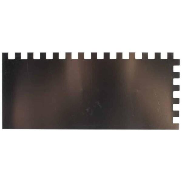 Peine INOX 28 cm. (10×10) Rubí
