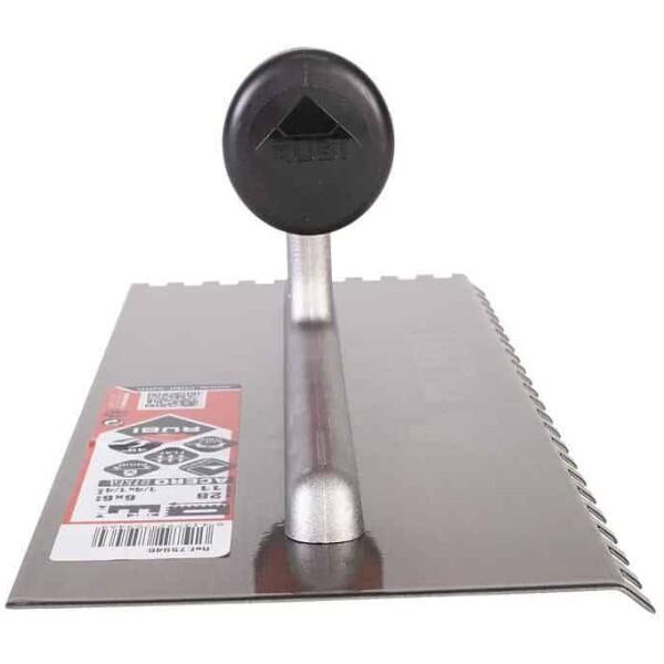 Peine 45º ACERO 28 cm. (6×6) Rubí