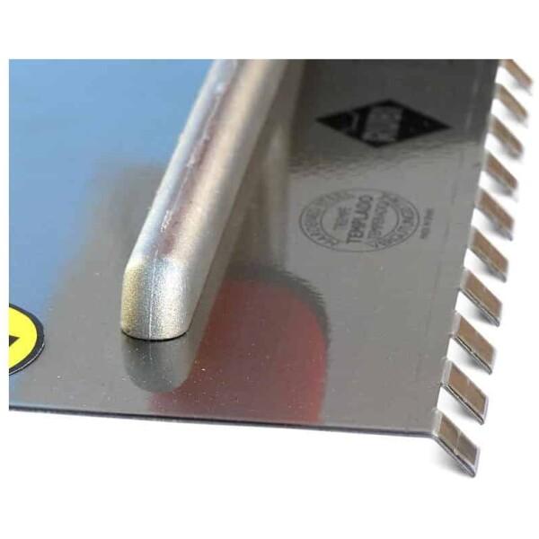Peine 45º ACERO 28 cm. (10×10) Rubí Superpro