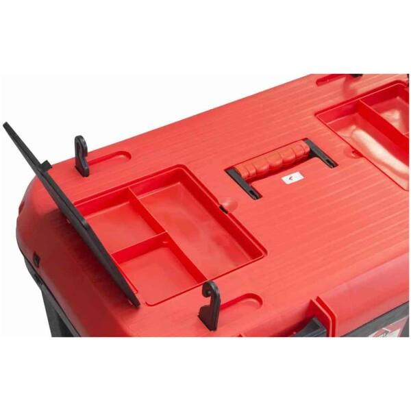Baúl herramientas de plástico para albañil Rubí