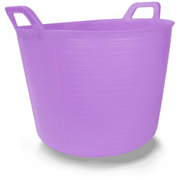 Capazo plástico colores «FLEXTUB» (40 l.) RUBÍ