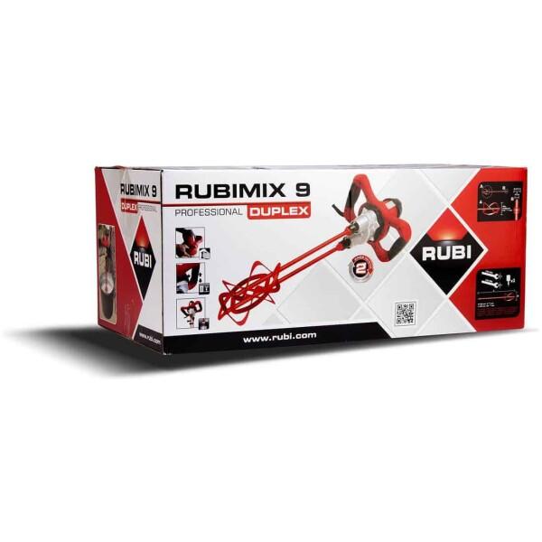 Mesclador de morter Rubimix-9 DUPLEX 230V-50 / 60Hz