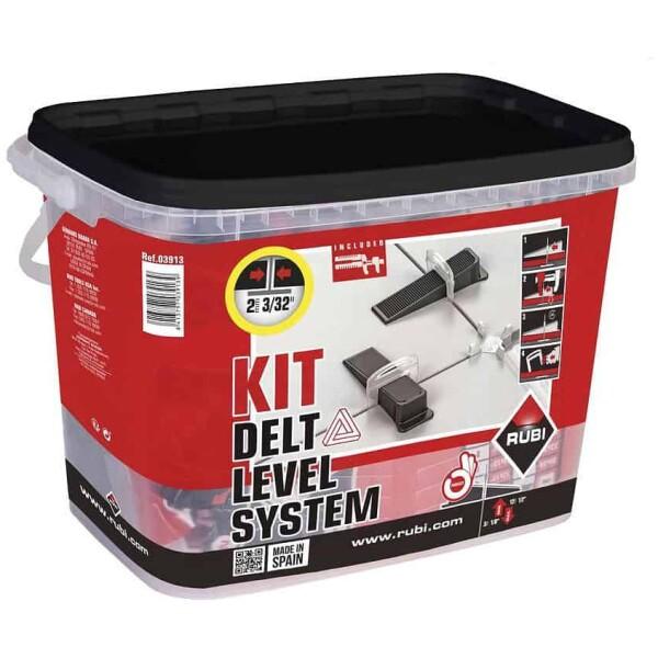 Kit DELTA LEVELLING SYSTEM RUBÍ Brida 2 mm