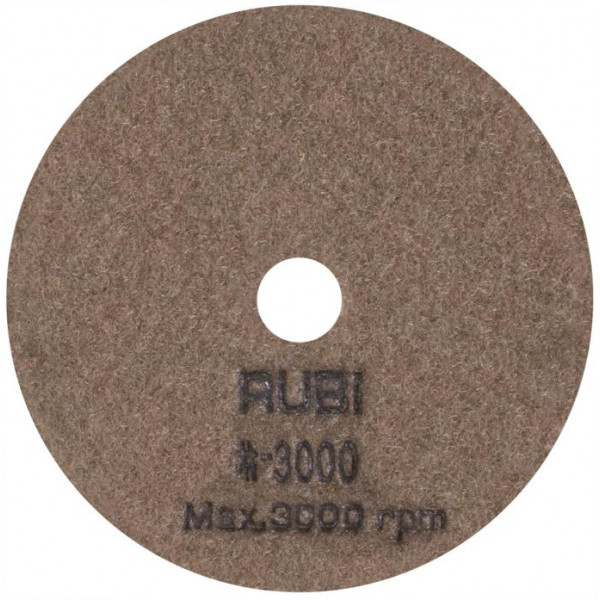 Discos flexibles diamantados para pulir Ø100 mm Grano #3000 a #50