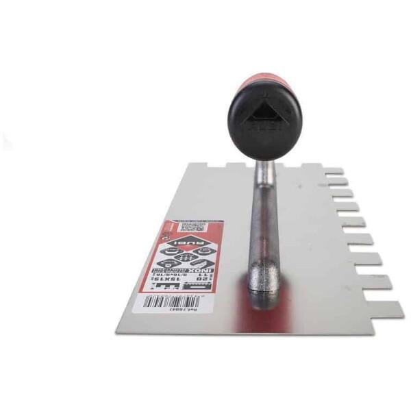 Peine INOX 28 cm. 15×15 mm. Rubí