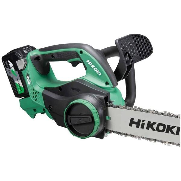 Motosierra a batería de litio Hikoki CS3630DAW4