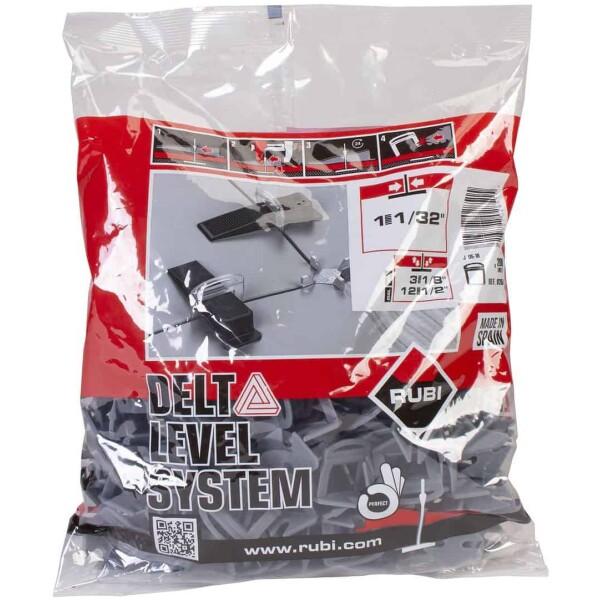 DELTA LEVEL SYSTEM flange 1 mm / 3-12 mm. (B-200 u.)