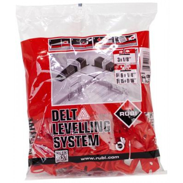 DELTA LEVEL SYSTEM flange 3 mm / 6-15 mm. (B-200 u.)