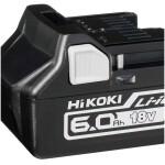 Batería deslizante Li-on 18V (6.0 Ah)  Hikoki