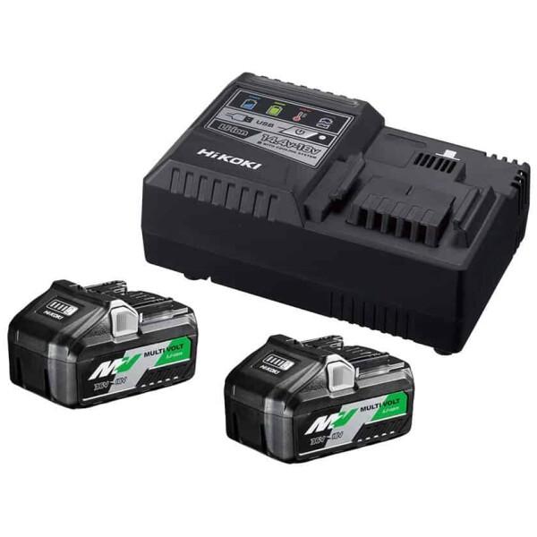 Pack de 2 baterías BSL36B18  + 1 cargador UC18YSL3 Hikoki