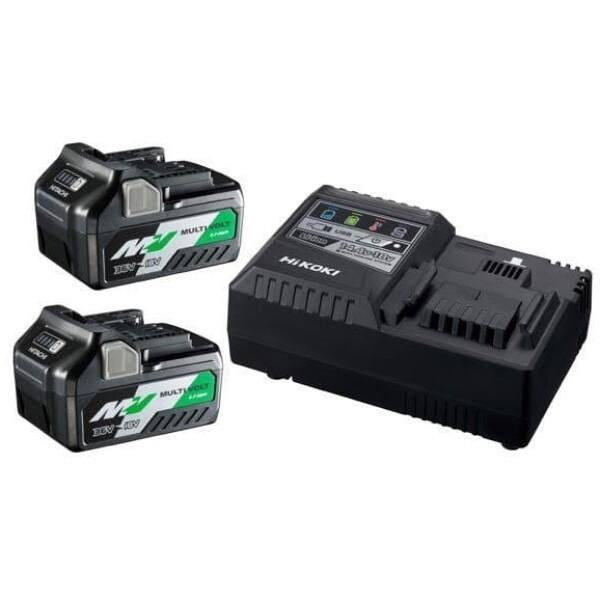 Pack de 2 Baterías BSL36A18 + Cargador UC18YSL3 Hikoki