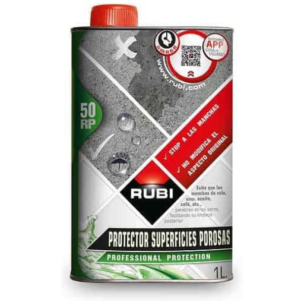 RP-50 Protector superfícies poroses 25 l. Rubí