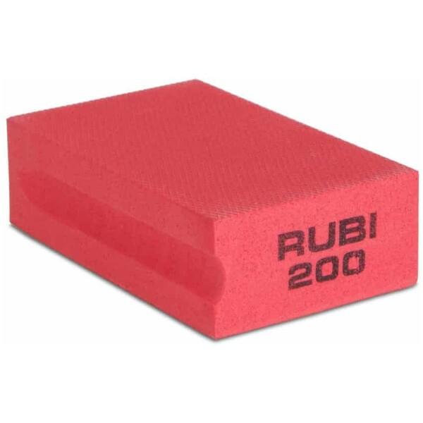 Taco de goma diamantado – Grano #200 Rubí