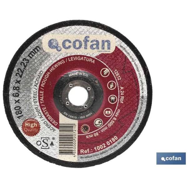 DISCO DESBASTE – 115X7,0X22,23 METAL PROFES.