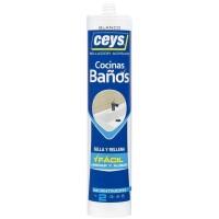 Sellador coc/bañ blanco cart CEYS