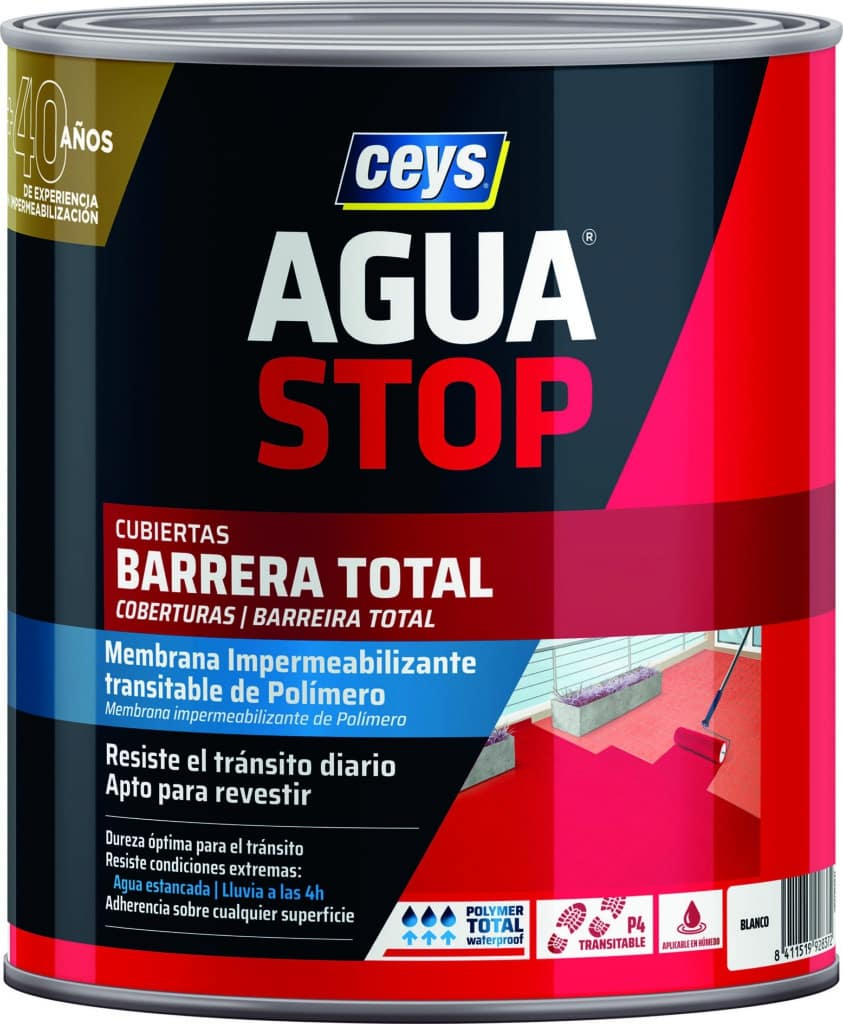 Aguastop barrera total 1kg blanco CEYS