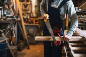 herramientas corte carpintería